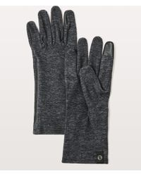 lululemon athletica - Run It Out Gloves - Lyst