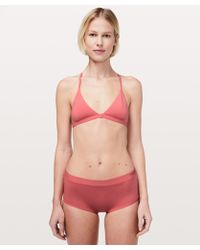 effc6ed730082 Out From Under Simply Minimal Triangle Bralette - Womens M in Pink ...