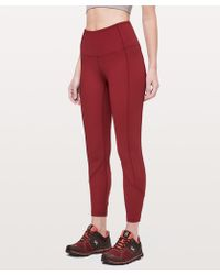 "lululemon athletica - Daily Lineup 7/8 Tight *25"" - Lyst"