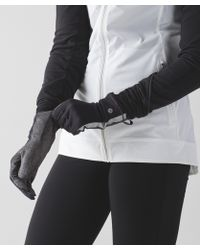 lululemon athletica - Run With Me Gloves - Lyst