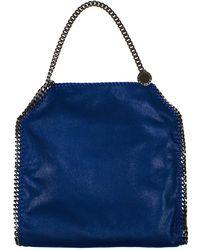 Stella McCartney - Blue Small Tote Falabella Bag - Lyst 4149b119b0