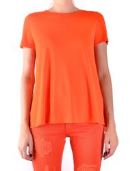 Dondup - Orange Cotton T-shirt - Lyst