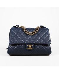 967ed30c8a7f Chanel - Paris-rome Large Trapezio Shoulder Bag - Lyst
