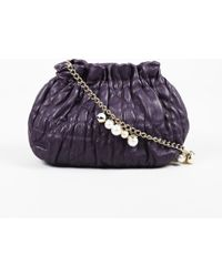 Dior - Purple Delices Gaufre Cannage Leather Mini Shoulder Bag - Lyst