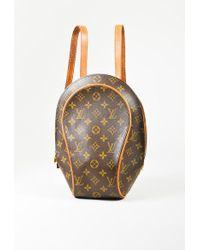 "Louis Vuitton - Vintage Brown Monogram Coated Canvas ""ellipse"" Backpack - Lyst"