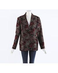 Erdem 2018 Jasper Floral Jacquard Blazer Jacket