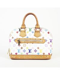 "Louis Vuitton - ""alma Mm"" Multicolore Monogram Coated Canvas Bag - Lyst"