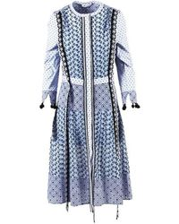 Altuzarra - Floral Embroidered Grenelle Dress - Lyst
