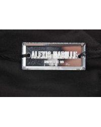 Alexis Mabille - Black Knit Draped Drawstring Skirt - Lyst