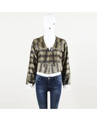 Dries Van Noten - Silk Embellished Jacket - Lyst