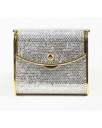 7d9f69ff2ef0 Judith Leiber - Sequin Embellished Evening Bag - Lyst
