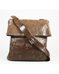Jean Paul Gaultier - Brown Leather Shoulder Bag - Lyst