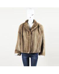 Nordstrom - Vintage Mink Fur Jacket - Lyst