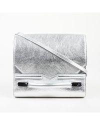 J. Mendel Mirror Grain Leather Crossbody Bag