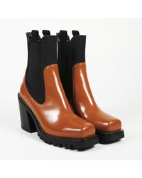 "Louis Vuitton - Leather ""limitless"" Square Toe Boots - Lyst"
