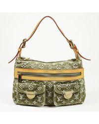 Louis Vuitton - Baggy Pm Monogram Denim Shoulder Bag - Lyst