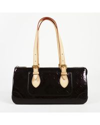 "Louis Vuitton - Monogram Vernis Leather ""rosewood Avenue"" Shoulder Bag - Lyst"