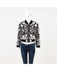 1d64ea0393 Needle   Thread - Floral Embroidered Beaded Bomber Jacket - Lyst