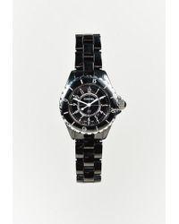 "Chanel - Black Ceramic & Steel ""j12"" Watch - Lyst"