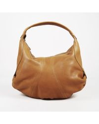 "VBH - Brown ""vitello"" Leather ""savannah"" Shoulder Bag - Lyst"