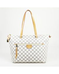 b2bf77a41159 Lyst - Louis Vuitton Siracusa Mm Crossbody Shoulder Bag Damier Azur ...