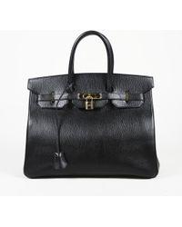 "Hermès - Black Ardennes Leather ""birkin"" Bag - Lyst"