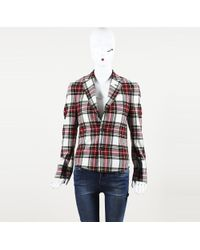 R13 - Checked Jacket - Lyst