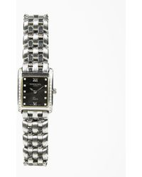 "Raymond Weil - Stainless Steel Diamond & Sapphire Crystal ""tosca"" Bracelet Watch - Lyst"
