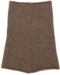 Isabel Benenato - Wool & Yak Blend Knit Tube Scarf - Lyst