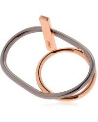 Eshvi - Hula Hoops Ring - Lyst