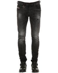 DIESEL - Jeans In Denim Di Cotone 16cm - Lyst