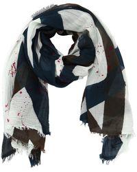 Faliero Sarti - Printed Cotton Scarf - Lyst