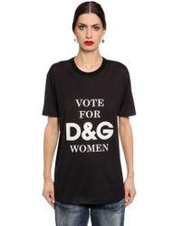 e8377475f2 Dolce & Gabbana Woman Embellished Appliquéd Cotton-jersey T-shirt ...