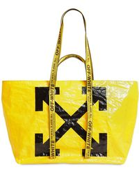 6ce3ca1d6 Off-White c/o Virgil Abloh Transparent Pvc Tote Bag - Lyst