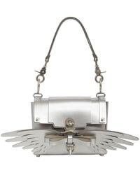 Niels Peeraer - Small Wings Leather Shoulder Bag - Lyst