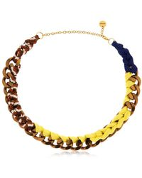 Missoni - Iconic Chain Braided Necklace - Lyst