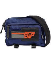 Prada - Blue Nylon Quilted Camera Bag - Lyst