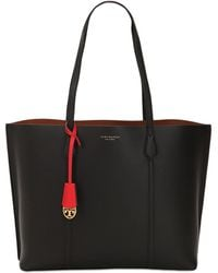 Tory Burch - Perry Multicolour Leather Tote Bag - Lyst