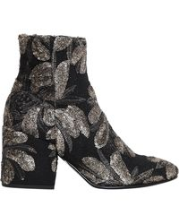 Strategia - 70mm Sequined Ankle Boots - Lyst