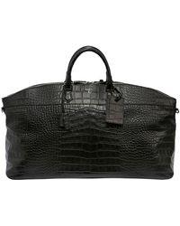 Serapian - Leisure 14 Embossed Leather Duffle Bag - Lyst