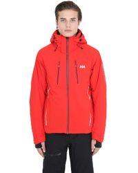 Helly Hansen - Alpha 2.0 Nylon Stretch Ski Jacket - Lyst