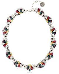 Anton Heunis | Crystal Leaf Necklace | Lyst