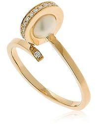 Delfina Delettrez   Seal Pearl Ring   Lyst