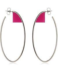 Sylvio Giardina - Barock Hoop Earrings - Lyst