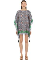 Tory Burch - Printed Square Cover Up - Lyst