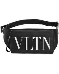 Valentino - Vltn Leather Belt Pack - Lyst