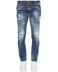 """DSquared² - """"16.5cm Jeans Aus Baumwolldenim """"""""clemet"""""""""""" - Lyst"""