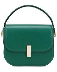 e7f62612ca62 Lyst - Ferragamo Medium Aileen Brushed Leather Bag in Black