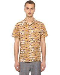Lanvin - Camicia Bowling In Cotone - Lyst