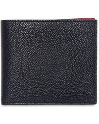 Thom Browne - Bicolor Pebbled Leather Classic Wallet - Lyst